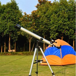большие телескопы Скидка Профессиональный 675 раз астрономический телескоп с портативным штативом и 60 мм большой объективной открытый масштабирования монокуляр
