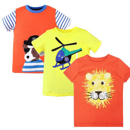 Wholesale Tshirt Cotton For Children - 3pcs Toddler Tshirt for Boys Clothes Baby Boy Summer Tops Character Kids Cotton T-shirt Boys Clothing Children T shirts Fille