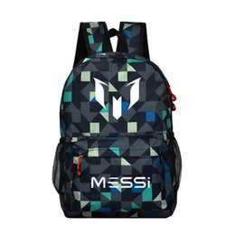 school bag teens Coupons - Teenagers school bags for boys Messi Teen bookbag Backpack men back pack Male bag Kids Gift Bagpack book s black rucksack