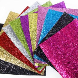 David accessories 20 34cm glitter Synthetic leather fabric hair bow diy  decoration crafts 1piece 5c28a6253cdb