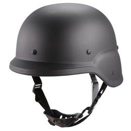 Casco táctico del ejército online-Battlefield Survival Tactical Combat Protector de la motocicleta Helmet Protective Army Helmet para la motocicleta de ciclismo