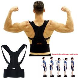 Bandage pour le dos en Ligne-Correcteur de posture ajustable au dos, ceinture de maintien, épaule, bandage corset, orthèse orthopédique, orthèse pour orthèse