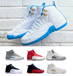 Wholesale Leather Lace For Sale - cheap air 12 Basketball Shoes hot sale Men original athletics Sneakers Boots Weaving AIR 11 Boots Cheap online for sale us 7-12