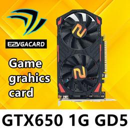 Wholesale Vga Ddr5 - Graphics Card GTX650 1GB DDR5 128Bit pci Express Placa de Video carte graphique Video Card for Nvidia