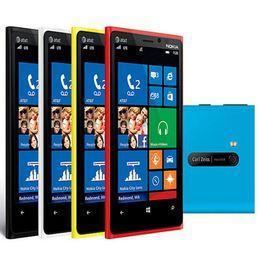 Yenilenmiş Orijinal Nokia Lumia 920 Windows Phone 4.5 inç Çift Çekirdekli 1 GB RAM 32 GB ROM 8MP Kamera Unlocked Akıllı Telefon Ücretsiz Post 1 adet nereden