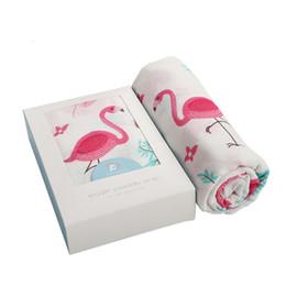 Дышащие детские одеяла онлайн-Ins пеленать одеяло Муслин двухслойный Бамбук 47 * 47 ' полотенце мочалка шарф мягкий и гипоаллергенный дышащий для мальчика / девочки