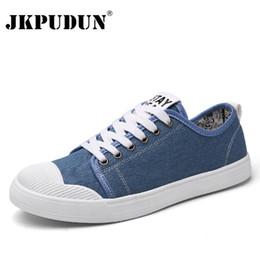 Wholesale men plimsolls - JKPUDUN Men Original Canvas Shoes Luxury Brand Espadrilles 217 Summer Designer Casual Shoes Men Plimsolls Men's Classic Flats