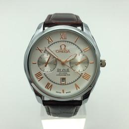 Reloj de los hombres de lujo de alta calidad elegante de la moda de doble hora espectáculo cinturón reloj de cuarzo resistente al agua regalo masculino reloj relogios desde fabricantes