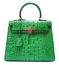 green body glitter Promo Codes - crocodile bags cross body shoulder brand new handbag tote 3D ostrich wholesale women tote purse BE France genuine leather bag Paris US EUR