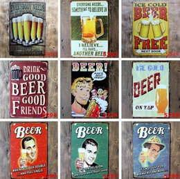 Wholesale guinness bar signs - Cheap Price Black Beer My Guinness tin sign home Bar Pub Hotel Restaurant Coffee Shop home Decorative Retro Metal Poster Painting