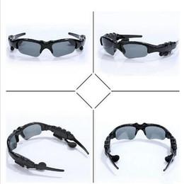 Gafas de sol Auriculares Bluetooth Deportes inalámbricos Auriculares Sunglass Auriculares manos libres Reproductor de música mp3 con paquete al por menor desde fabricantes