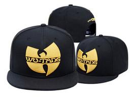 Wholesale wu tang hats - 2018 New Wu Tang Snapback Hat WUTANG Baseball Cap Wu-Tang Clan Bone Gorras Free Shipping