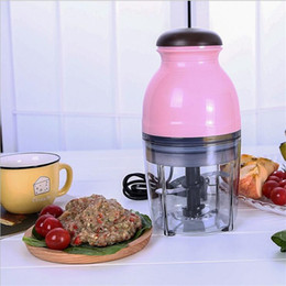 Wholesale Electric Food Mixers - Electric Meat Mincer Fruit Vegetable Juicer 4 Blades Baby Feeding Fruit Juicers Meat Grinder Food Mixer Blenders