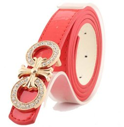 Wholesale First Class Sets - Hot sale! Quality First Class real designer For women strap Luxury Belts Alloy Buckle Fashionable joker set auger lady's belt