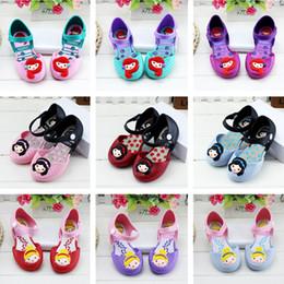 Wholesale Factory Children - Mermaid Sandal children jelly shoes 2018 summer new girl sandals factory direct children girls princess shoes Free ship A-550