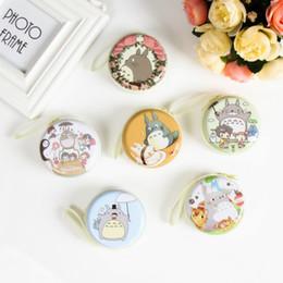 borsa della moneta di totoro Sconti Donne Totoro Kawaii Totoro Mini Borsa Cartone animato Totoro Portamonete per bambini Ragazze Portafogli Custodie per auricolari Regalo di nozze Regalo di Natale