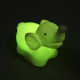Schöne Cartoon Tier Nachtlicht 7 Farben Ändern LED Nachtlicht Lampe LED  Lampe Für Baby Kinder Geschenk Schlafzimmer Dekor Neues Design Heißer