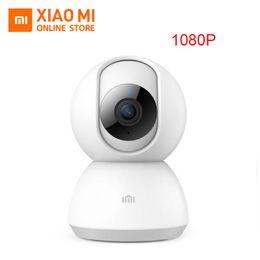 Hd ptz camera visione notturna online-2018 Versione aggiornata Originale Xiaomi Mijia 1080P HD Telecamera IP intelligente Versione PTZ Visione notturna a infrarossi Voce a due vie Codifica H.265