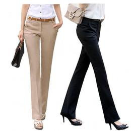 Argentina Tallas grandes 2018 Primavera Verano Casual OL Harem Formal Pantalones Vestido de oficina Mujer Pantalones Flare cheap harem dresses Suministro