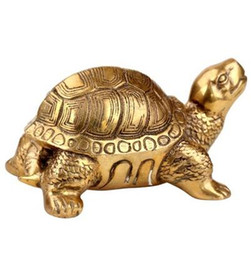 Wholesale Turtle Ornaments - The copper tortoise turtle longevity Home Furnishing Figurine rich crafts decoration Symbolize wealth Animal figurine statue