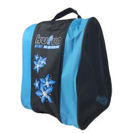 Bolsa para gelo on-line-Saco unisex do patim dos patins de gelo do saco do patim dos adultos saco da praia do ombro