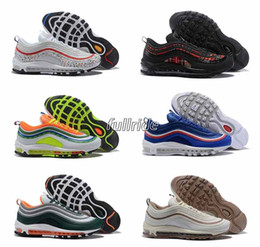 5620445c0bc7b6 2018 Newest 97 Running shoes yellow pink OG Red white Undefeated PRM women  maxes Sports shoes designer men sneakers air shoe 7-12 discount max shoes