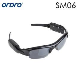 Wholesale New Glasses Hd Camera - New Arrival 480P 720P SM06 Camera Sunglasses Mobile Eyewear Recorder Video Record Glass Mini Camcorder Glasses Ali Freeshipping
