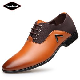 Frühling Herbst Plus Größe 38-47 Männer Schuhe Leder 2018 Casual Split Leder  Oxford Schuhe für Mann Mocassin Driving Schuh günstig mocassin schuhe df7deec06a