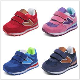 Scarpe da ginnastica per bambini online-Primavera autunno Net bambini traspiranti Baby Boys ragazze scarpe antiscivolo bambini Sneakers Toddler Shoes Running Shoes