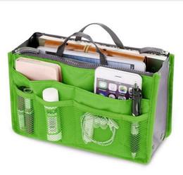 Envío gratis mujeres CALIENTES bolso organizador del bolso cosmético en bolsos cremallera doble bolsillos de viaje multifuncionales portátiles bolsa de maquillaje desde fabricantes