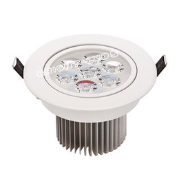 Wholesale 12 Led Downlight - 9 12 15 21W good quality lowest price dimmable led downlight lighting lamp AC110V 240V led cabinet light