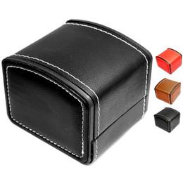 Canada HOT boîtes de montre de luxe en cuir PU montre-bracelet emballage pour femme hommes meilleur cadeau livraison gratuite Offre