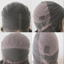 Wholesale Human Hair Wigs Free Shipping - human hair wig lace cap,medium size ,large size ,good quality ,free shipping
