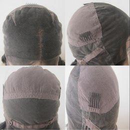 Wholesale large caps - human hair wig lace cap,medium size ,large size ,good quality ,free shipping