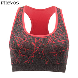 4d095a6b10fe5 Phevos Sport Bra Top Woman Push Up Sports Bra Plus Size Racerback Fitness  Running Yoga Seamless Gym Bras Brasier Deportivo