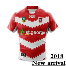Wholesale Product Listings - ST GEORGE DRAGONS 2018 Away JERSEY size S--3XL New products are listed, top quality , free delivery. 2018 Highlanders super rugby