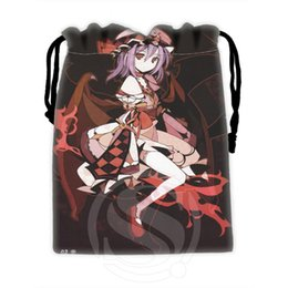 Wholesale H P782 Benutzerdefinierte Sexy anime mädchen kordelzug taschen für handy tablet PC verpackung Geschenk Bags18X22cm SQ00806 H0782