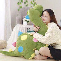 Wholesale Dinosaur Pillows - Dorimytrader 2018 lovely soft cartoon dinosaur plush toy stuffed anime dinosaurs doll amimals sofa pillow baby gift DY61923