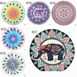 newRound Mandala Telo stampato Arazzo Hippy Boho Tovaglia Bohemian Telo Serviette Covers spiaggia dello scialle Yoga Mat 200wn437 da tovagliolo compresso di natale fornitori