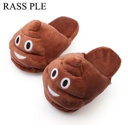 70c3e23f0a8 Emoji Slippers Soft Plush Slippers Chinelos Pantufas Indoor