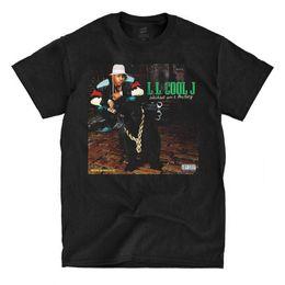 LL Cool J - Marcher avec une panthère - Noir T-Shirt Hommes Tops Tees 2017 Mode Été Nouveaux Hommes T Shirt Pas Cher Vente 100% Coton ? partir de fabricateur