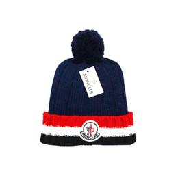 bd69139fb2f classic 2018 Fashion Designer brand Beanies cotton knitted Autumn Winter  outdoor hats hip hop casual caps men women Head Warmer wholesale