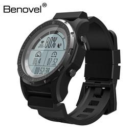 a3aaea63ce62d0 Benovel Smart Watch S966 GPS Heart Rate monitor Smartwatch Heart Rate  Monitor Multi-sport Men Compass Running Sport Watch