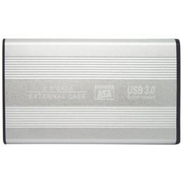 Sata sata portátil online-HDD SSD Enclosure Carcasa 2.5 pulgadas USB3 a la unidad de disco duro SATA MAX 4TB para PC portátil