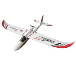 Wholesale Gliders Planes - Wholesale- 2000mm skysurfer 2.4Ghz 6CH Radios airplane kit frame remote control RC Glider radio control plane EPO model hobby Glider