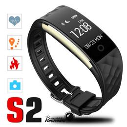 S2 relojes baratos online-2018 Ritmo cardíaco dinámico S2 Smartband rastreador de ejercicios Contador de pasos Banda de reloj inteligente Pulsera de vibración para ios android pk ID107 fitbit tw64