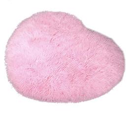 Morbido tappeto a forma di cuore per la coperta della camera da letto da rotoli microfibra asciugamano fornitori
