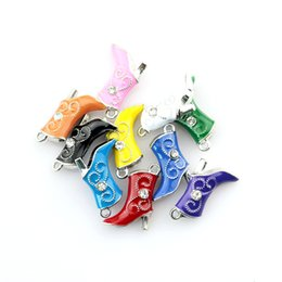 Silber Ton Überzogene Schwimmstiefel 10 teile / los 16 * 20 MM Metall Charme Mischfarben Halskette DIY Perlen Anhänger Für Schmuck machen von Fabrikanten