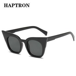 57ffe6054f60 HAPTRON Oversized Cat Eye Kids Sunglasses Luxury Brand Gradient Red Black  Child Shades Sun Glasses Vintage oculos Parent-child