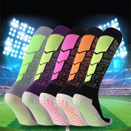 309f3013f5 Professional Soccer Sports Socks Men Women Non-Silp Design Basketball  Running Breathable knee high Football Sport Sock Antiskid